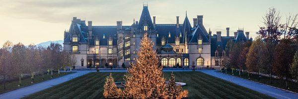 Christmas season at the Biltmore Estate.
