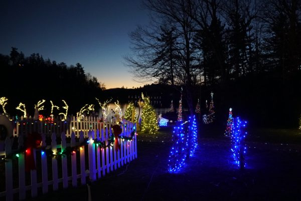 Christmas Village in Linville