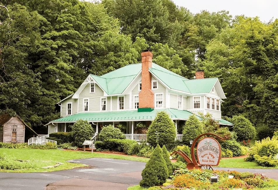 The Mast Farm Inn by the Pisgah National Forest